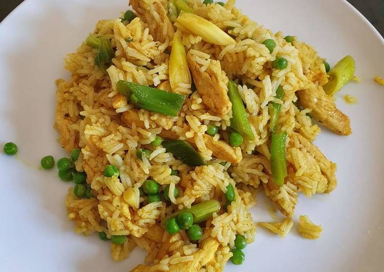 Recipe of Speedy Turmeric chicken