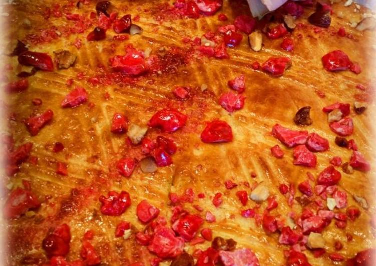 Galette bretonne d'octobre rose