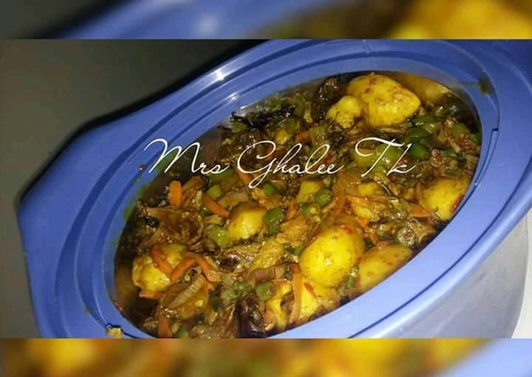 Eat Better Faten dankalin turawa da bushashshen kifi