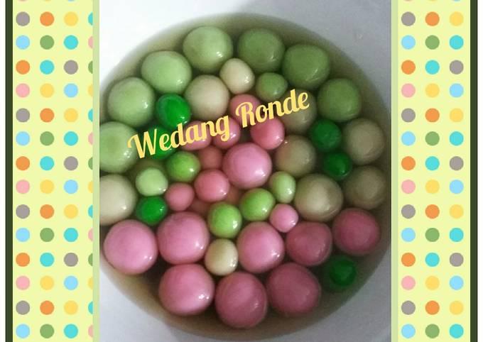 Wedang Ronde (ala chef)
