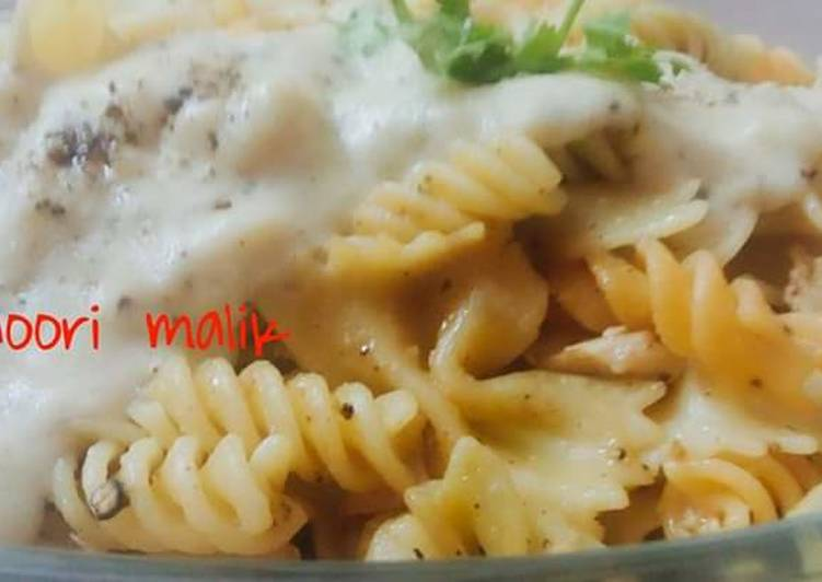 Easy Comfort Dinner Ideas Love Italian white sauce pasta