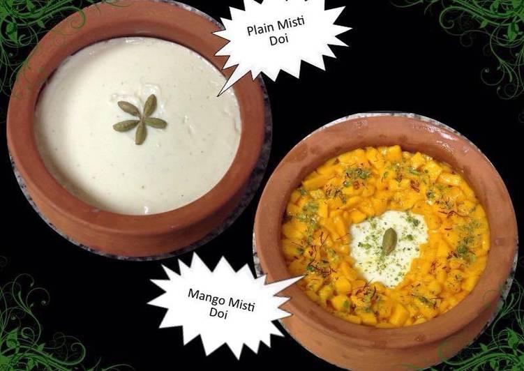 30 Minute Steps to Make Refreshing Mango 🥭 Misti Doi