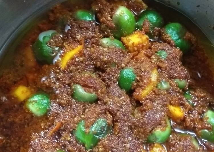 Top 100 Dinner Ideas Love Gunda-Keri Aachar (Glue Berry And Mango Pickle)