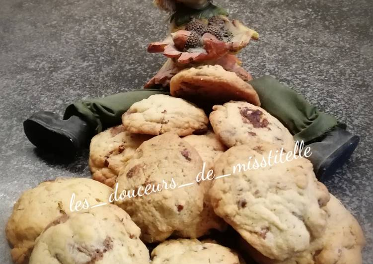 Recette Appétissante Cookies 🍪