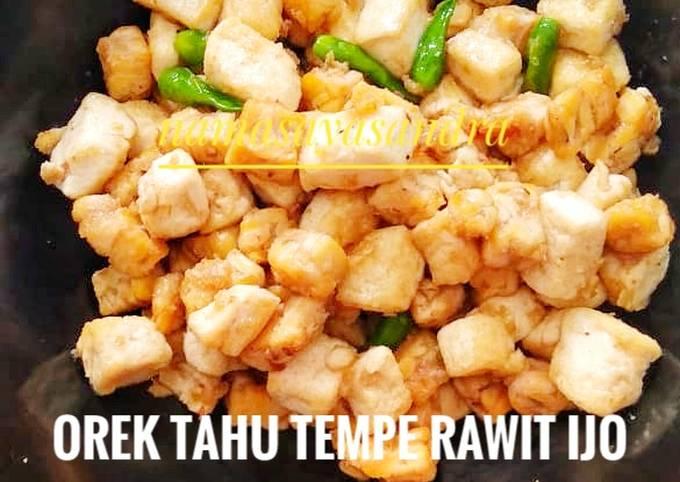 Orek Tahu Tempe Rawit Ijo