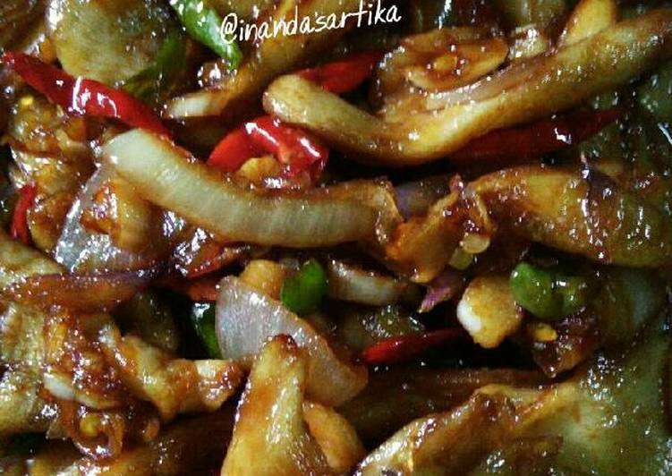 Resep Jamur Tiram Masak Kecap Pedas Oleh Inanda Sartika Cookpad