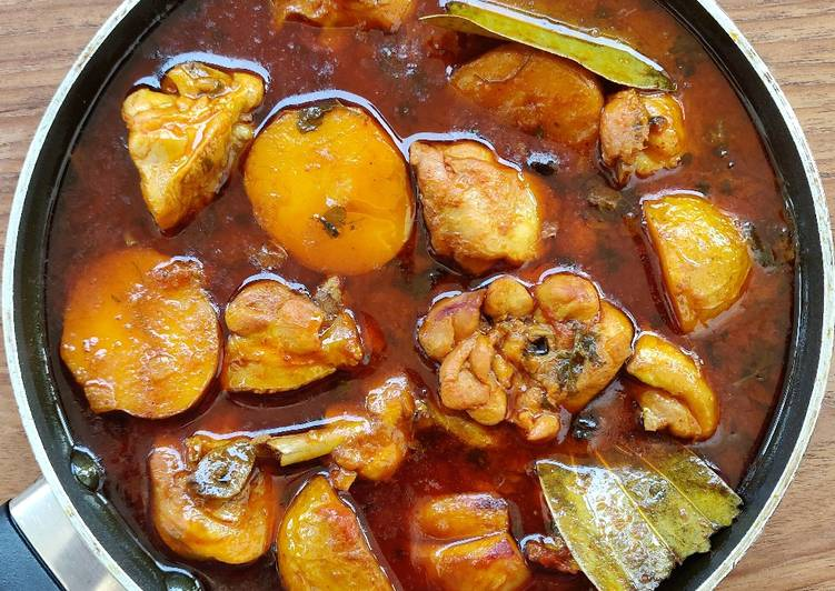 Odia style chicken curry!