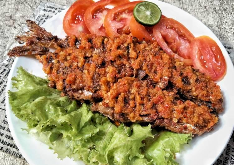 Ikan Kembung Panggang (teflon)