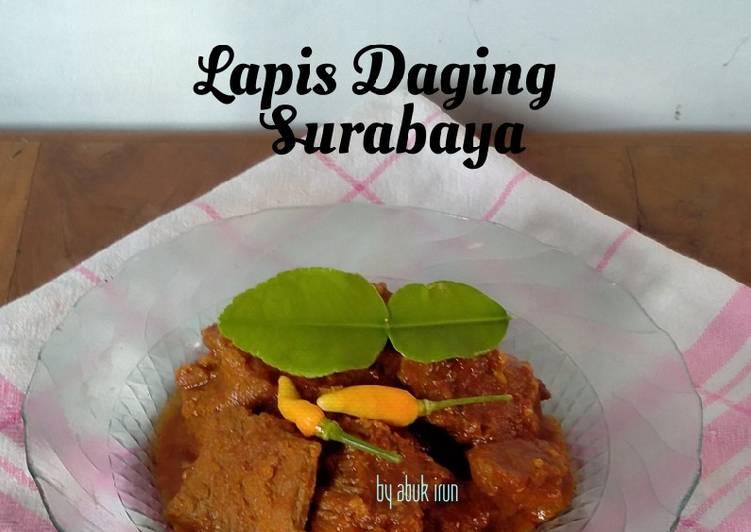 Lapis Daging Surabaya