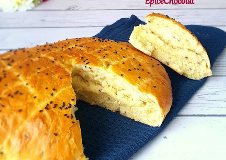 Recette Délicieux Khobz dar (pain maison)