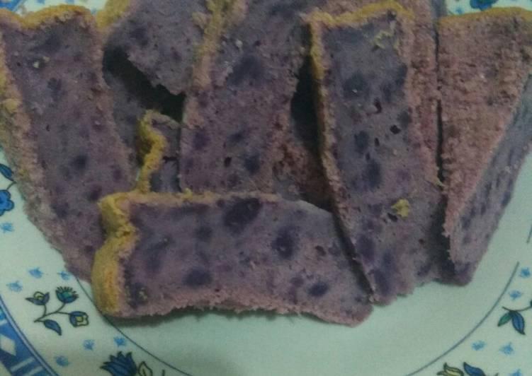 resep mengolah Bolu sweet potato - Sajian Dapur Bunda