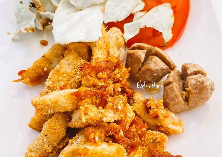 Ayam Geprek Oats Diet