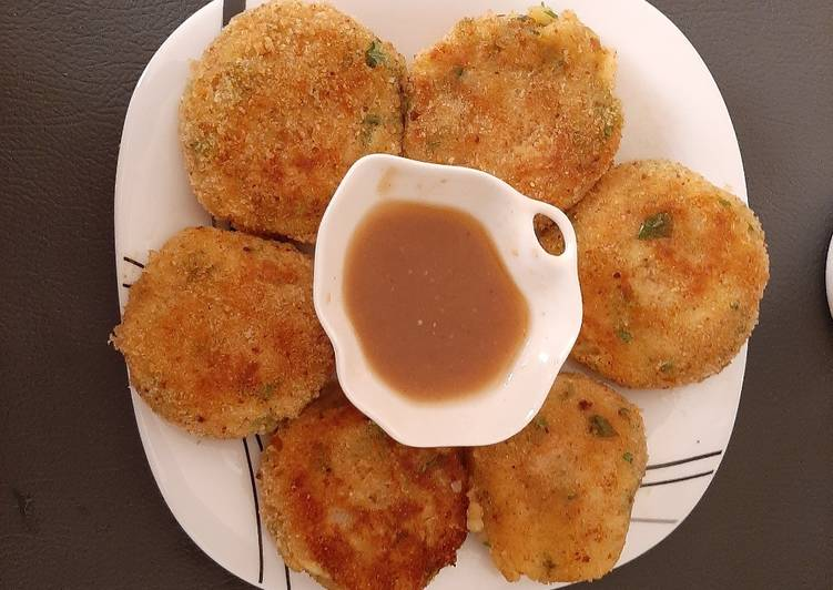 Simple Way to Make Any-night-of-the-week AlOO Kabab Patato Cutlets