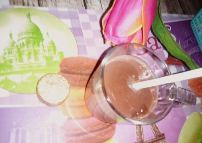 Hot chocolate!😋🍫☕