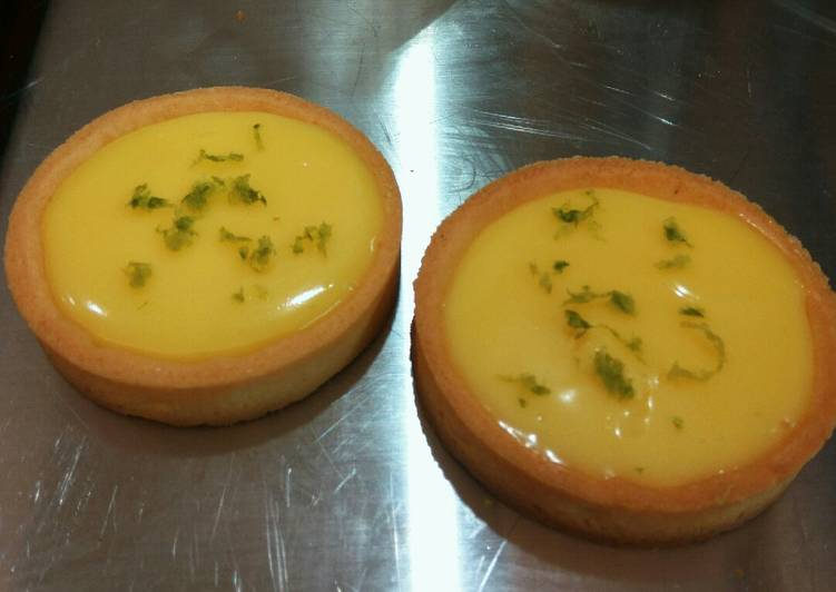 My Favorite Dessert -- Lemon Tart