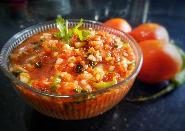Simple Way to Prepare Homemade Mexican salsa(dip)