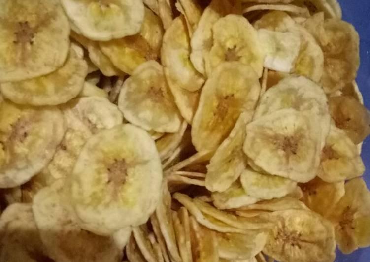 Keripik pisang #herlinwidodo