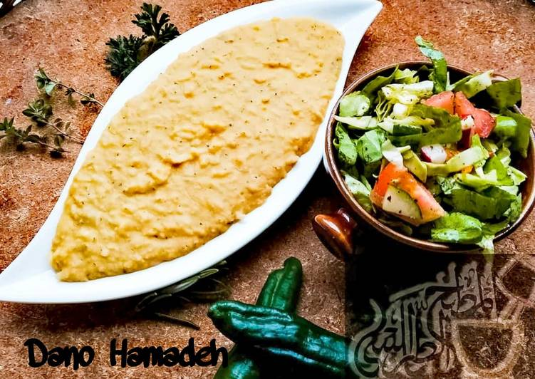 Recipe of Homemade Yellow Mujadara ; Red lentils with rice