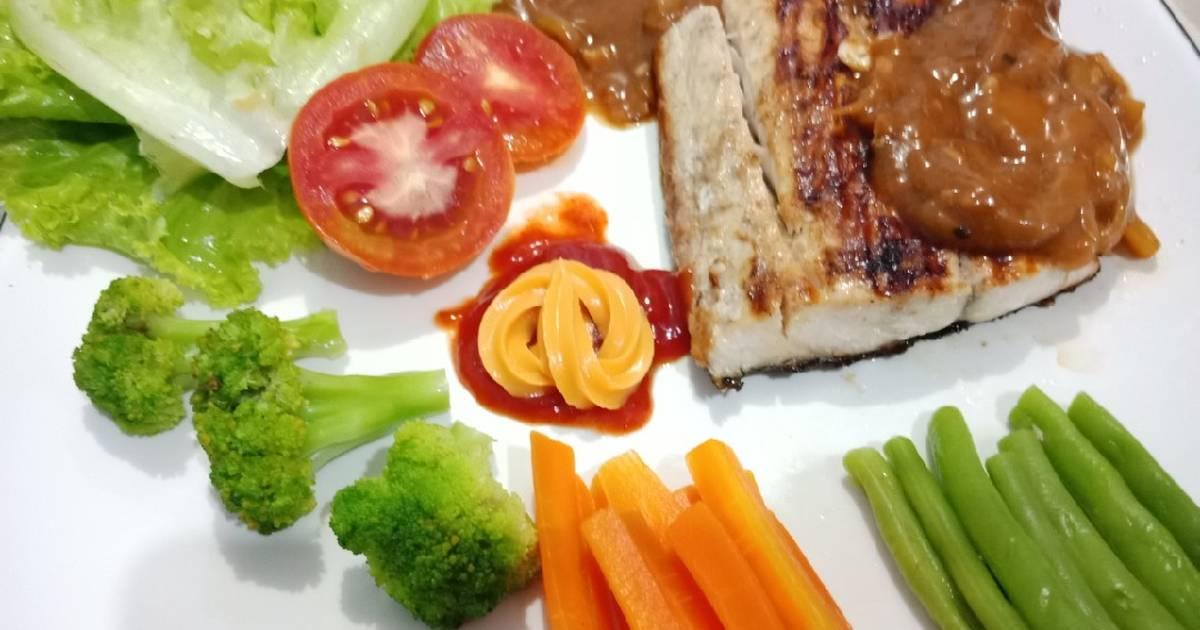 Resep Fish Steak Simple Sauce Oleh Yin S Cookpad