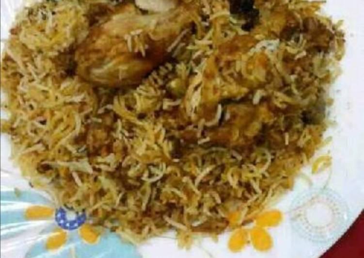 Tandoori Masala Chicken Dum Biryani
