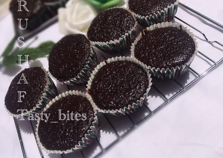 Moist chocolate cup cakes
