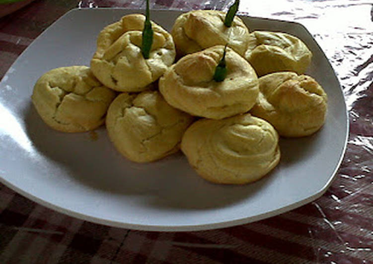 Dasar Cream Puff (soes)
