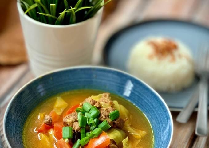 Shank Beef Soup - Tongseng Sengkel Sapi