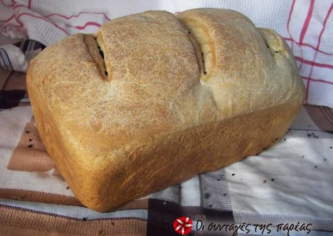 Easiest Way to Make Yummy Bread with sourdough starter