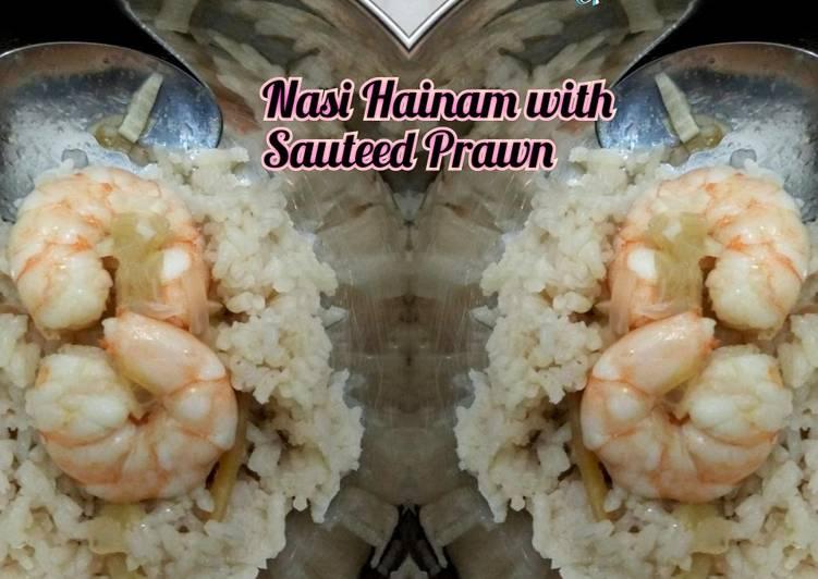 Nasi Hainam Ricecooker super cepat & mudah