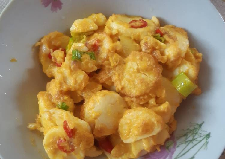 Tofu Telur Asin