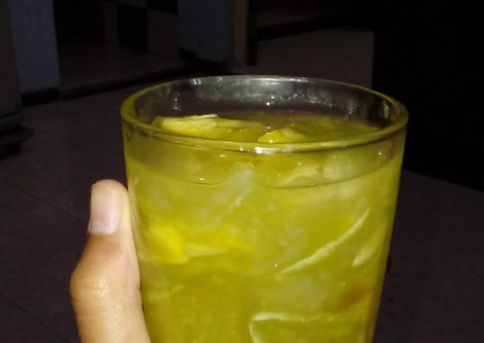 Es Melon Nanas Agar-agar
