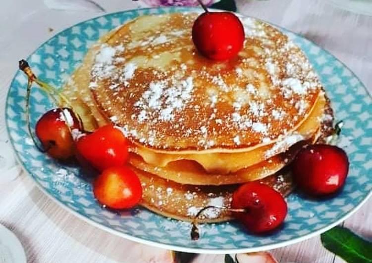 Recette Appétissante Pancake à deux ingrédients
