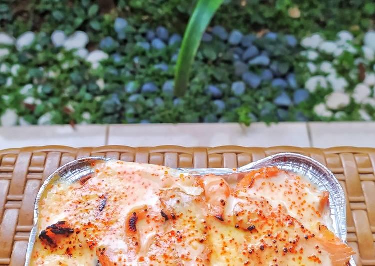 Salmon Mentai/Mayo Rice