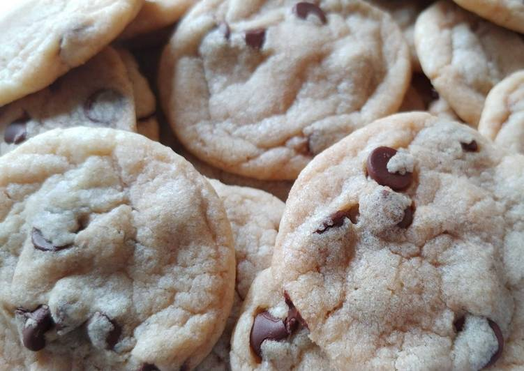 Steps to Prepare Super Quick Homemade Peanut Butter Chocolate Chip Cookies