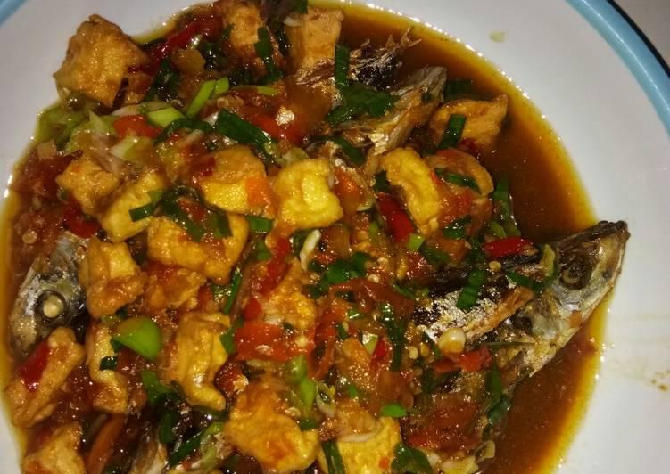 Resep Sarden Ikan Besek With Tahu Oleh Pitri Duwi Endah Purnamasari Cookpad