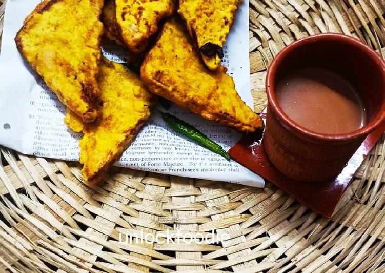 30 Minute Easiest Way to Make Autumn Bread Pakora