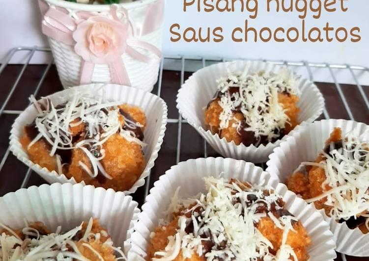 Pisang Nugget Saus Chocolatos
