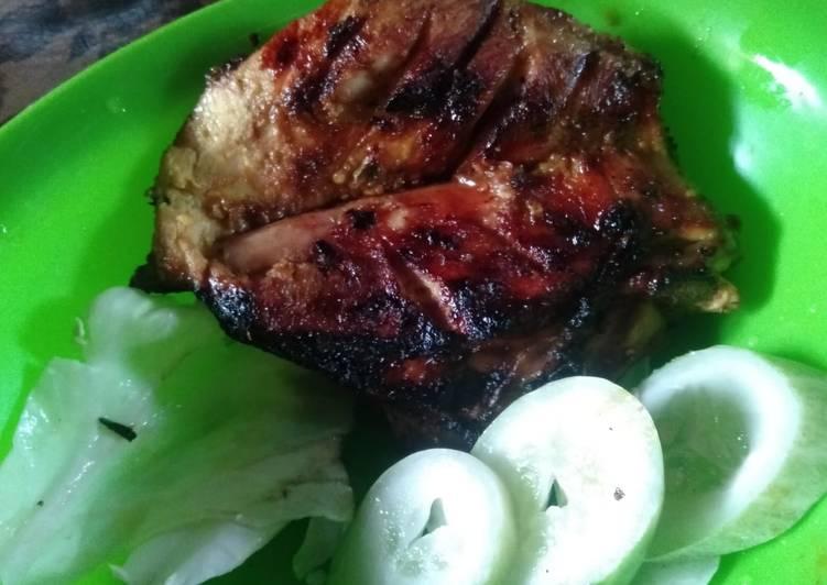 Ayam panggang mantul