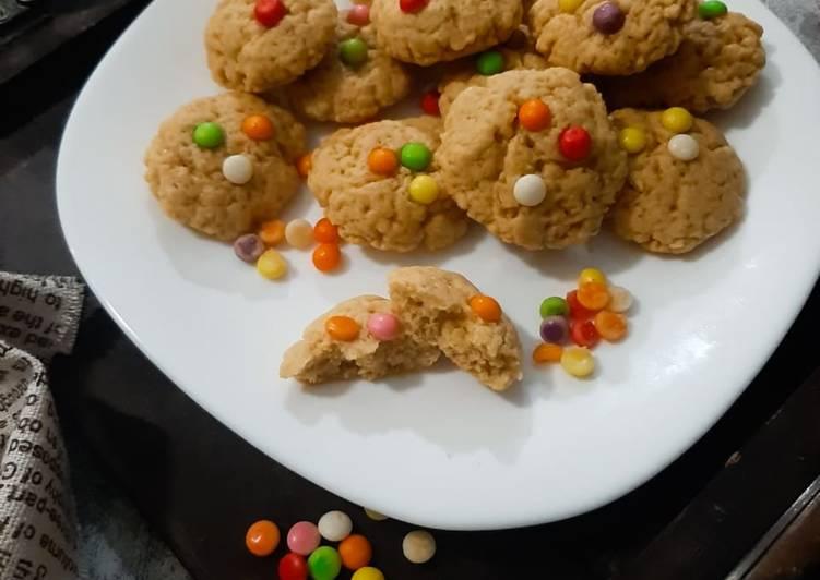 Orange cookies Teflon