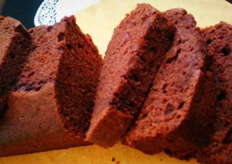 Simple Choco-orange cake