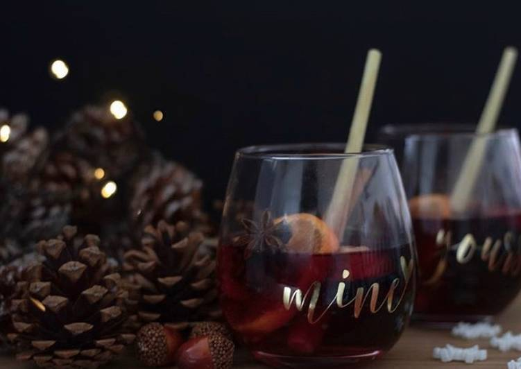 Simple Way to Prepare Most Popular Mulled wine 'Mine and Yours'