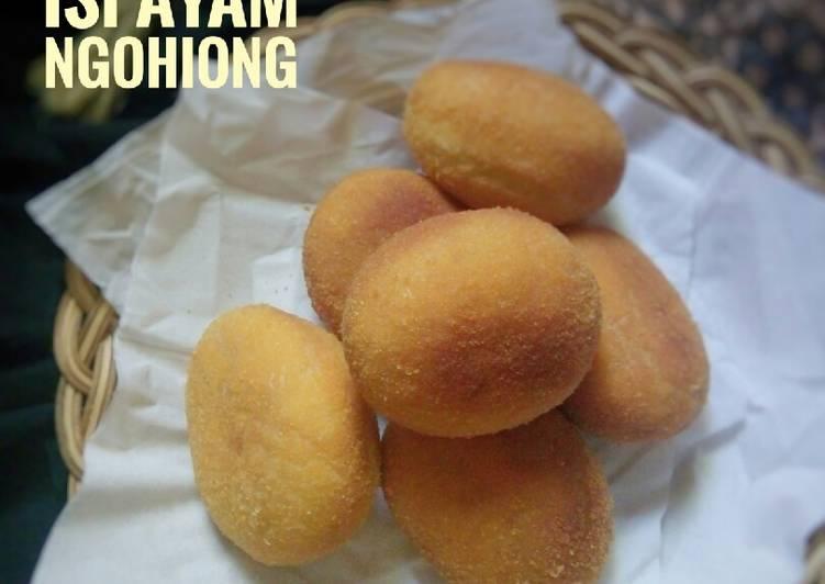 Roti Goreng Eggless Isi Ayam Ngohiong
