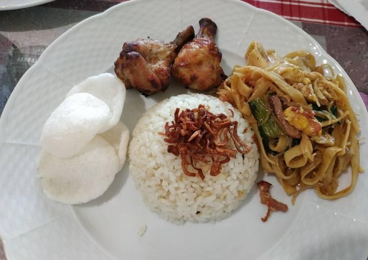 Nasi Uduk Ricecooker - cookandrecipe.com