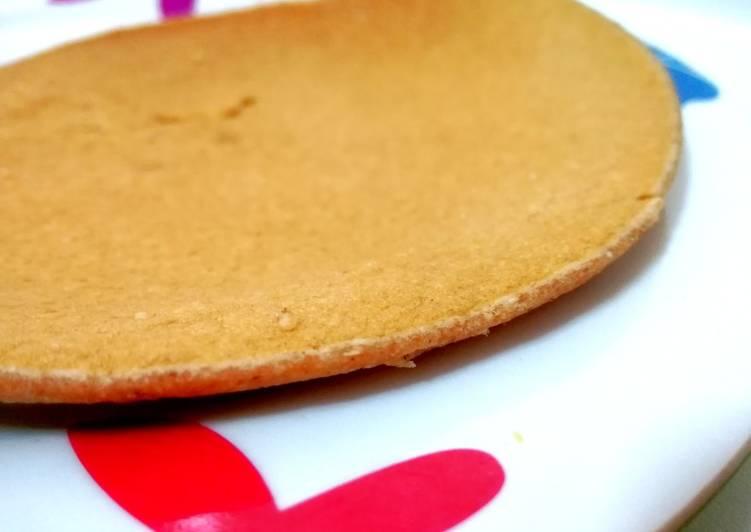 Tortitas integrales de avena con galletas Digestive