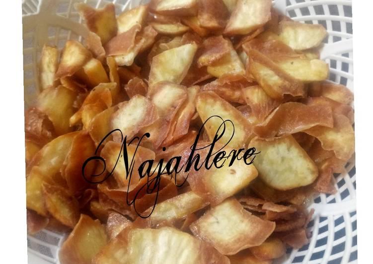 Easiest Way to Prepare Ultimate Sweet potatoes chips 2