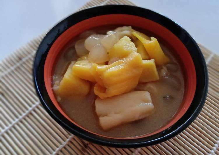 1.4 Kolak (ubi, nangka, kolang kaling, tape)