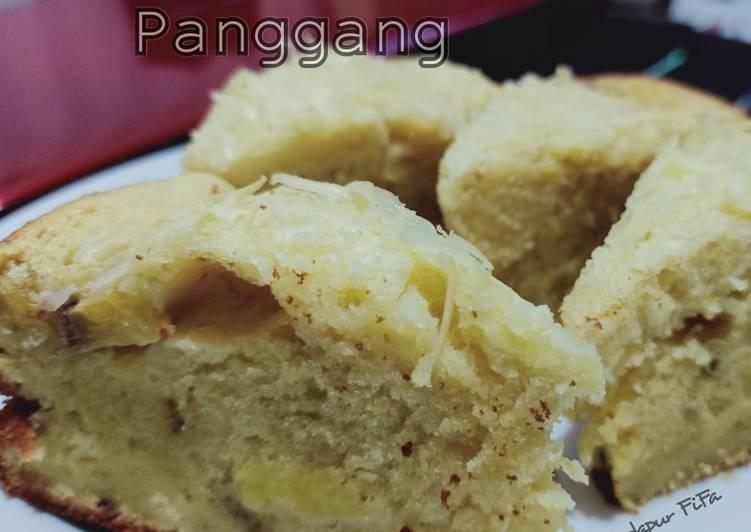 Bolu Pisang Panggang - cookandrecipe.com