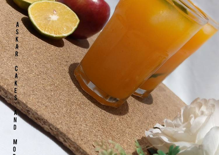 Easiest Way to Make Award-winning Mix fruit juice