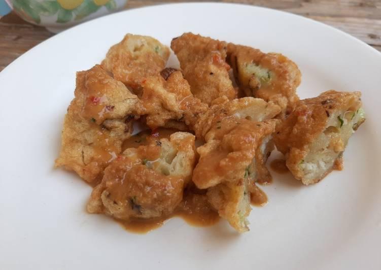 Batagor Homemade Healthy tergampang (a.k.a bakso goreng)