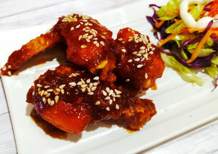 Sweet And Spicy Chiken Wings